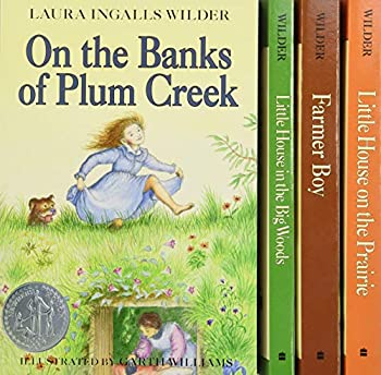 Little House 4-Book Box Set  Little House in the Big Woods Farmer Boy Little House on the Prairie On the Banks of Plum Creek