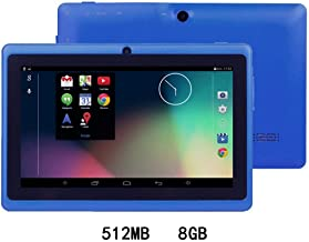 $214 » Iannan 7-Inch HD Touch Screen Children Tablet PC Quad-Core 512MB 4/8GB Dual Camera Tablets