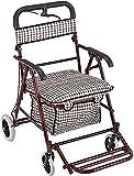Caminantes para personas mayores Rollator Walker Mayors y adultos Médico Rolling Walker Shopping...