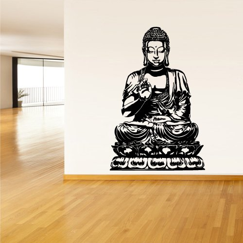 Buddha Wall Decal Yoga (Z1377)