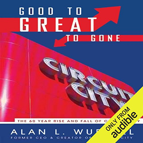 Good to Great to Gone audiobook cover art