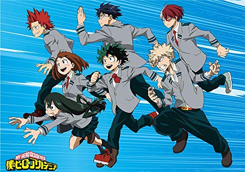 Zheng 1000 Pieces Jigsaw Puzzles For Adults,Jigsaw Puzzles For Family - My Hero Academia - Jigsaw Puzzles For Adults,Quality Jigsaw Puzzles,Diy Toys Decor