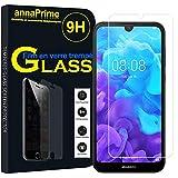 "annaPrime® Bildschirmschutzfolie Bildschirm Schutz Folie für Huawei Ascend D Quad Y5 (2019) 5.71"" AMN-LX1/AMN-LX2/AMN-LX3/AMN-LX9-1 Film Tempered Glas Transparent"