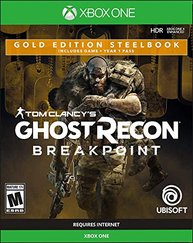 Tom Clancy's Ghost Recon Breakpoint Steelbook Gold Edition for Xbox One