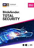 Bitdefender Total Security - 5 Devices | 1 year Subscription | PC/Mac...