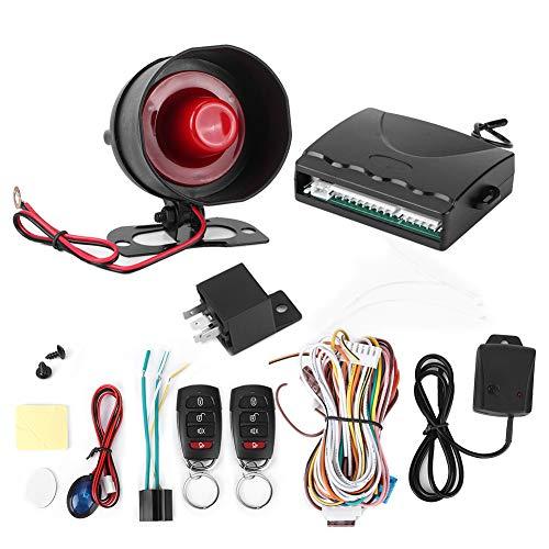 Sistema De Alarma Universal para Coche, Entrada Sin Llave De Seguridad con Cerradura De Puerta, Kit De Control Remoto