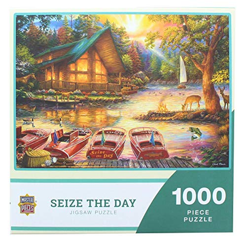 Masterpieces - Seize The Day by Chuck Pinson - 1000 Piece Jigsaw Puzzle