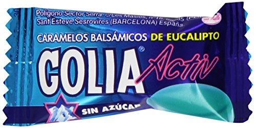 Golia - Activ - Caramelos balsámicos de eucalipto sin azúcar - 560 g
