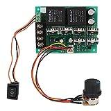 Controlador de motor, controlador de velocidad de motor de CC, controlador de velocidad de motor de CC de alta potencia ajustable Control de interruptor para motor para ajuste de corriente(Shellless)