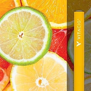 ビタシグ 電子タバコ VITACIG リキッド 6種類から選べる フレーバー 水蒸気 禁煙グッズ ネコポス発送 送料無料 (クールシトラス) [並行輸入品]
