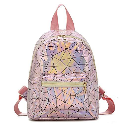 XIAOKEKE Mochila estilo acomodação para meninas, viagem, estudante, lazer, personalidade, mochila pequena fresca, 1, 23*10*30cm