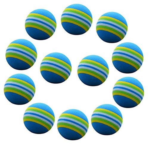 BESPORTBLE 24 Stück Schaumstoff Golf Übungsball Soft EVA Ball für Indoor Training Golf Praxis
