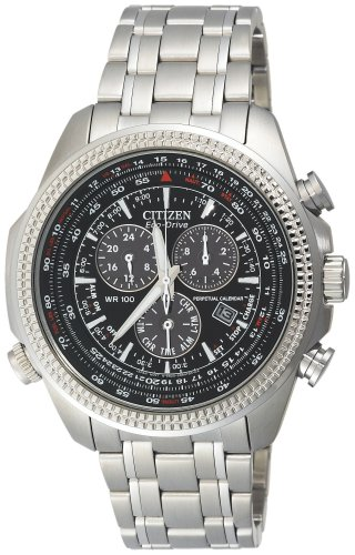 Citizen Men's BL5400-52E Eco-Drive Stainless Steel Sport Watch