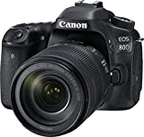 Canon Digital SLR Camera Body [EOS 80D] and EF-S 18-135mm f/3.5-5.6...