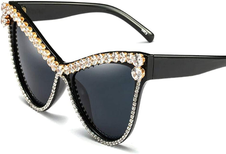 Cat Eyes Sun Glasses Black predection Anti