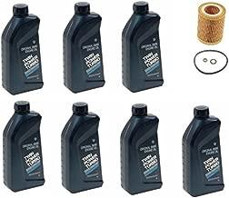 7-Quarts Genuine Synthetic 5w30 Motor Oil & 1 Oil Filter for BMW E60 E61 E84 E85 E90 E91 E92 E93 530i X5 Z4