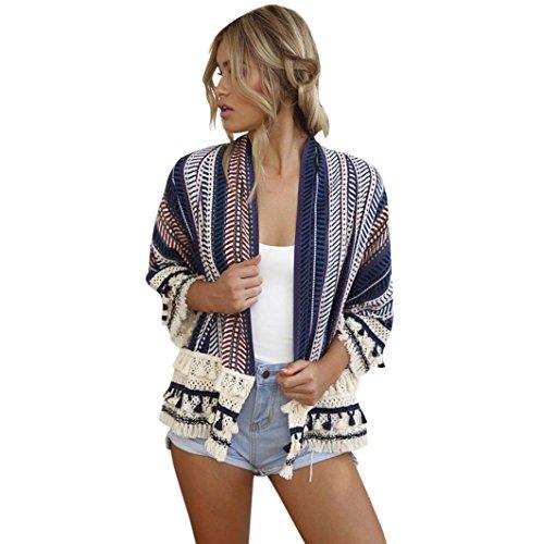 DEELIN CáRdigan Flojo Kimono Chal Flojo De Las Mujeres