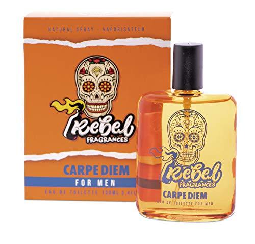 Rebel Fragrances Rebel Carpe Diem - Eau De Toilette Para Hombre 100 ml (200941)
