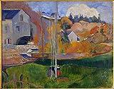 Art-Galerie Digitaldruck/Poster Paul Gauguin - Paysage de