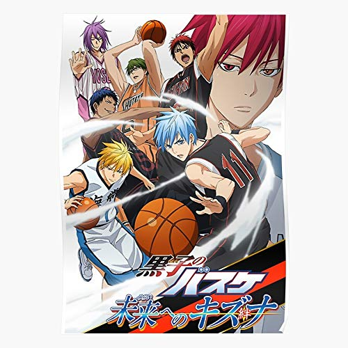 Anime Kagami Basket Basketball Kuroko No Taiga Basuke Home Decor Wall Art...
