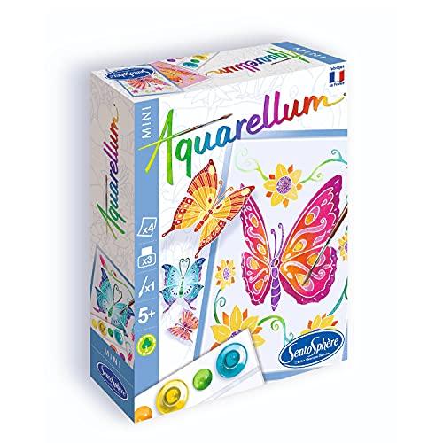 Sento Sphere Mini Aquarellum Butterflies Watercolor Paint Set