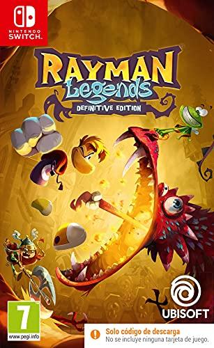 Nintendo Switch - Rayman Legends Definitive Edition Código De Descarga Switch