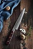 HEZHEN Cuchillo de filete (cuchillo jamón) de 8 pulgadas B9Z8QR
