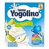 Nestlé iogolino Alimento infantil, leche fermentada con puré de pera - Paquete de 4 x 100 gr - Total: 400 gr