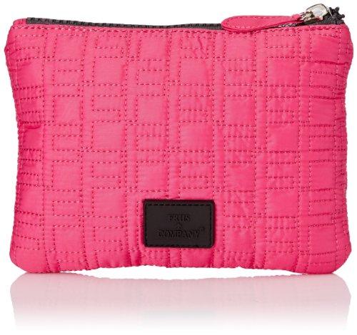Friis Company Taluna & Shopper Small Hand, Clutch, Pink - Pink - Rosa - Größe: one size