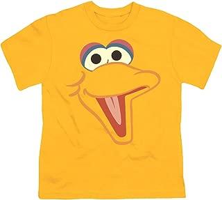Youth Sesame Street Big Bird Face T Shirt for Boys & Stickers