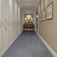ラグ カーペット 現代洗える非スリップキッチンユーティリティホールロングランナードアマットラグ実カーペットランナーパーフェクト作品ナイトレッドカーペットイベントの階段ランナー、2色 (Color : A, Size : 0.5x3m)