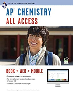 AP Chemistry All Access (Advanced Placement (AP) All Access) by Wood, Derrick C., Best, Scott A., Reel, Kevin R., Gava M.S., (2012) Paperback
