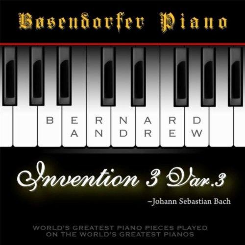 J. S. Bach: Invention No. 3 in D Major, BWV 774: Variation No. 3 (Bosendorfer Piano Version)