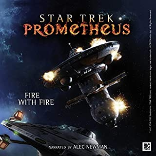 Star Trek Prometheus - Fire with Fire audiobook cover art