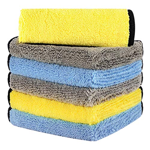 Ultra Thick Microfiber Car Towels by HOTOR