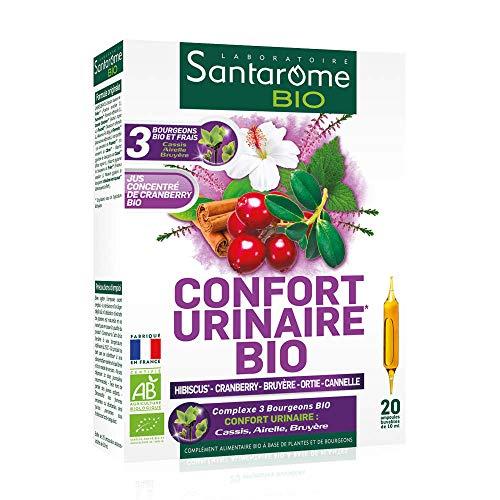 Santarome Bio Ampoules Complément Alimentaire Confort Urinaire Bio Programme 20 Jours