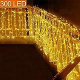 MOVEONSTEP 200 LED 22M Guirnaldas Luminosas de Exterior, Guirnalda Luces LED, IP44 Luces Guirnalda...