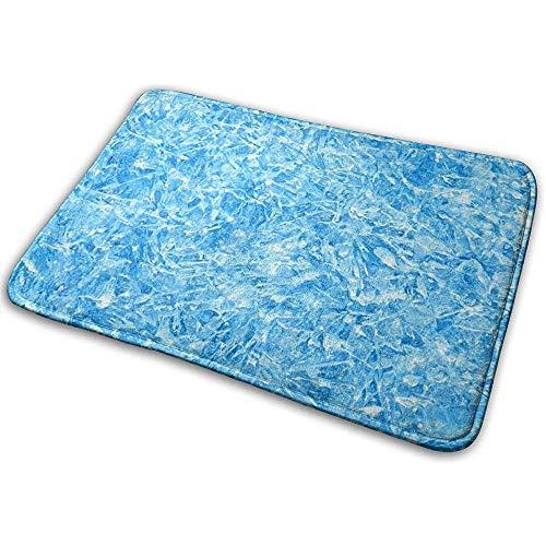 Astridh EIS-Beschaffenheits-Ausgangstür-Matten-super saugfähige rutschfeste vordere Bodenmatte, weiche korallenrote Gedächtnis-Schaum-Teppich-Badezimmer-Gummieingangs-Wolldecken