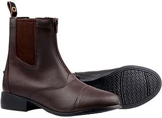 Ladies Foundation Zip Paddock Boots - Brown - Size: 9