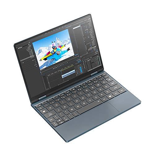 Una computadora portátil Netbook, la tableta empresarial 2 en 1 de 4a generación de 10.1 pulgadas, el teclado retroiluminado controlable Core I5-1130g7 de 11.a generación Pantalla HD de 8+256gb Win10