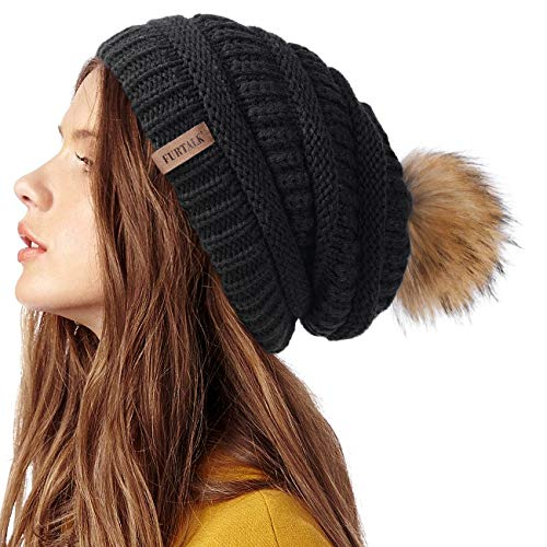 FURTALK Womens Winter Knit Slouchy …