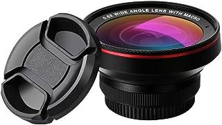 L.J.JZDY telefonobjektiv mobilobjektiv 0,6 x vidvinkel plus 15 gånger makro-två-i-ett-set av det externa universal-SLR-mob...