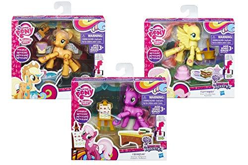 Hasbro European Trading B.V. B3598EU4 - Mein kleines Pony Bewegliche Sortiment, Spiele und Puzzles