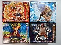 ワンピース スーパーエフェクト能力者フィギュアvol.4 全4種セット エース マルコ ジョズ 黒ひげ ティーチ
