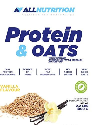 All Nutrition Suplemento Dietario de Proteína y Avena, Vainilla 1000 g