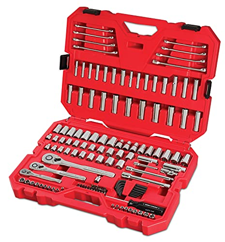 CRAFTSMAN Mechanics Tool Set, SAE / Metric, 135-Piece (CMMT12024)
