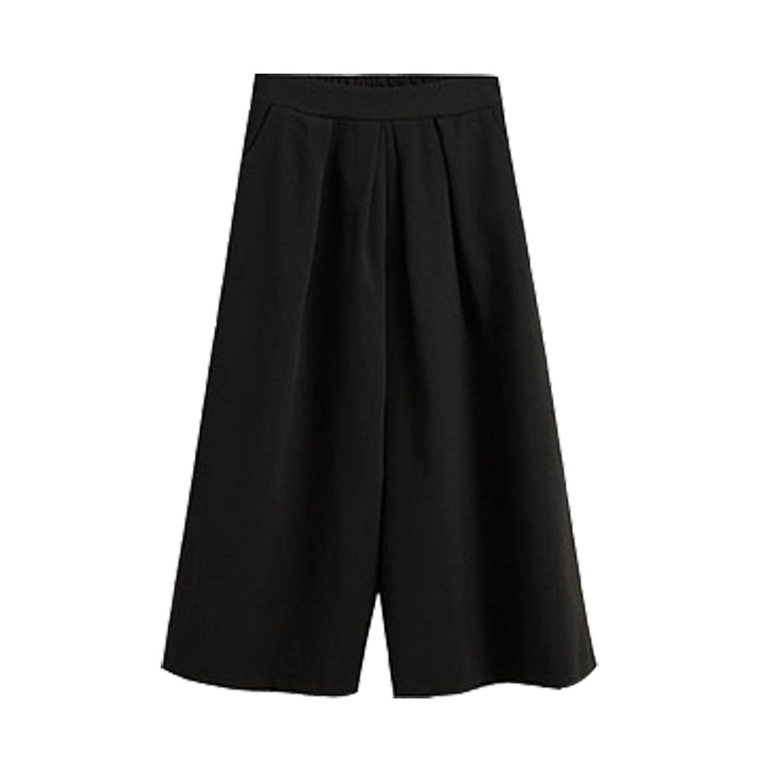 【SEBLES】ガウチョ パンツ レディース 秋 冬 大人 カジュアル な ワイド パンツ ゆったり 着れる