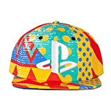 Playstation ベースボールキャップ Multi Colour All Over Print 新しい 公式 Snapback Size One Size