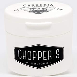 Garberia Chopper S Hair Styling Pomade for Men in 80ml | High Hold & Shine | Waterbased Styling, Texturing & Grooming Product | For Soft, Sexy & Shiny Hair | Works for Classic, Simple & Extreme Style