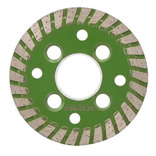 Hoja de sierra de diamante, diámetro del disco abrasivo 65 mm, herramientas de corte de piedra para ranurar y ranura